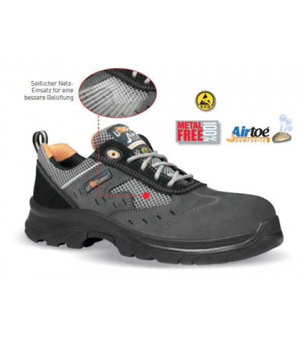 U-Power Sprint ESD S1 SRC Air Toe Kompozit İş Ay...